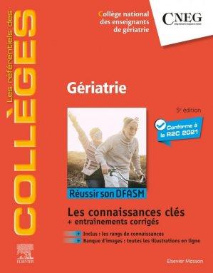 Référentiel Collège de Gériatrie - elsevier / masson - 9782294770227 -