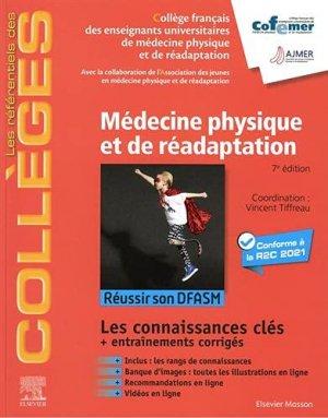 Référentiel Collège de Médecine Physique et de Réadaptation - elsevier / masson - 9782294770722 -