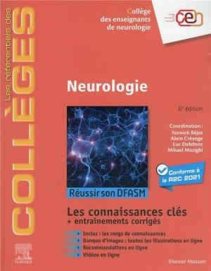 Référentiel Collège de Neurologie - elsevier / masson - 9782294774379 -