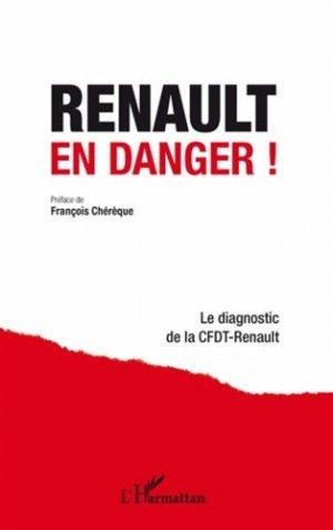 Renault en danger ! - l'harmattan - 9782296993877 -