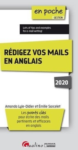 Redigez vos mails en anglais - gualino - 9782297090346 -