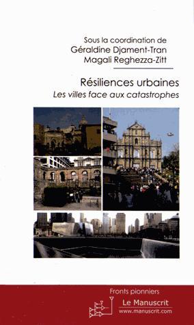 Résiliences urbaines - manuscrit - 9782304039047 -