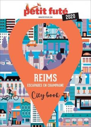 Reims. Escapades en Champagne, Edition 2020 - nouvelles éditions de l'université petit futé - 9782305018539 -