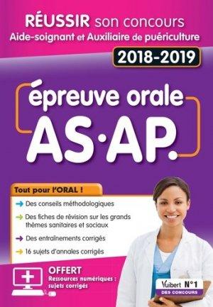 Réussir son concours AS/AP 2018-2019 - Épreuve orale - de boeck superieur - 9782311660258 -
