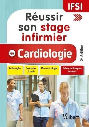 Réussir son stage infirmier en cardiologie - vuibert - 9782311661361 -