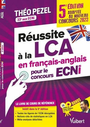 Réussite à la LCA en français-anglais pour le concours ECNi - estem / vuibert - 9782311661941 -