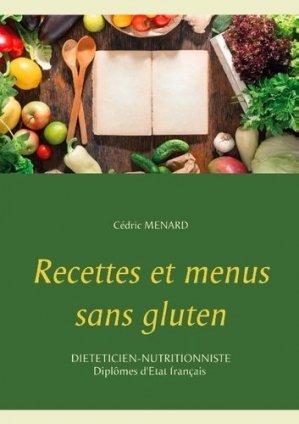 Recettes et menus sans gluten - Books on Demand Editions - 9782322092772 -