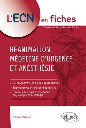 Réanimation, médecine d'urgence et anesthésie - ellipses - 9782340028890 -