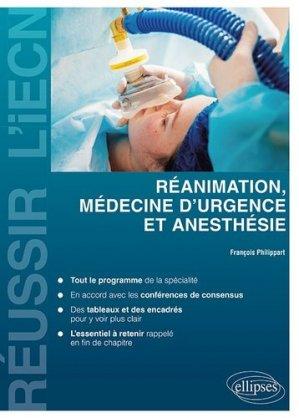 Réanimation, médecine d'urgence et anesthésie - ellipses - 9782340028906 -