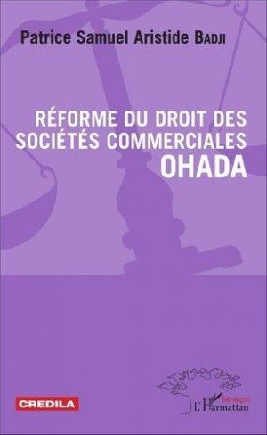 Réforme du droit des sociétés commerciales OHADA - l'harmattan - 9782343090733 -