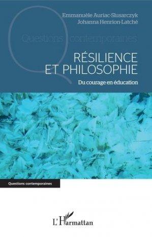 Résilience et philosophie - l'harmattan - 9782343136905 -