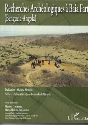 Recherches archéologiques à Baia Farta - l'harmattan - 9782343174419 -