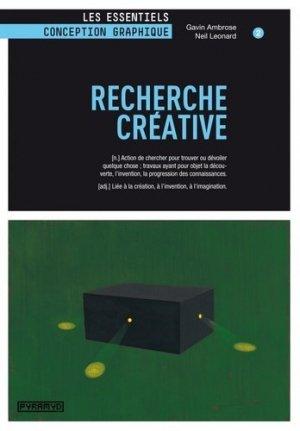 Recherche créative - Editions Pyramyd - 9782350172903 - majbook ème édition, majbook 1ère édition, livre ecn major, livre ecn, fiche ecn