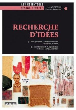 Recherche d'idées - Editions Pyramyd - 9782350173054 -