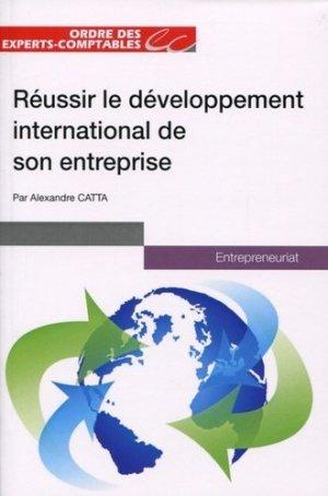 Réussir le développement international de son entreprise - Expert Comptable Média - 9782352675150 -