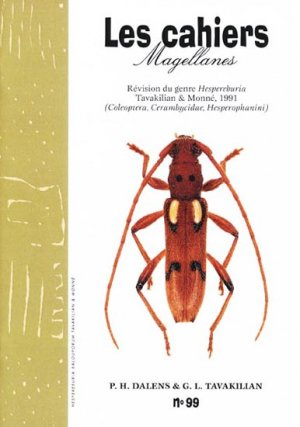Révision du genre Hespereburia Tavakilian & Monné, 1991 - magellanes - 9782353870554 -