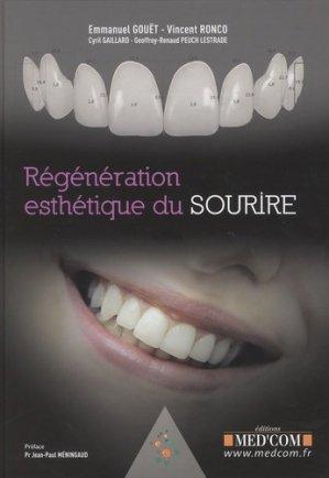 Regénération esthétique du sourire - med'com - 9782354032289 -