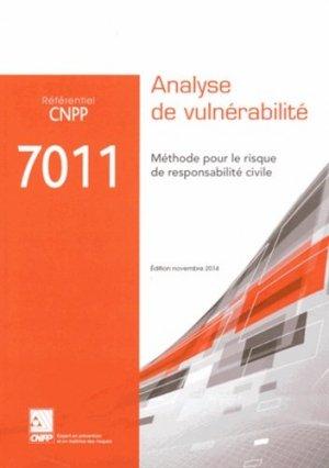 Référentiel CNPP 7011 - cnpp - 9782355051845 -
