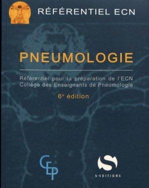 Référentiel collège de Pneumologie - s editions - 9782356401922 -
