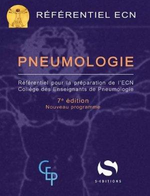 Référentiel collège de Pneumologie - s editions - 9782356402325 -