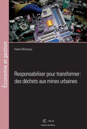Responsabiliser pour transformer - presses des mines - 9782356715364