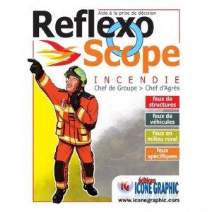 Reflexoscope Incendie Chef de groupe > Chef d'Agrès - Icone graphic - 9782357386433 -
