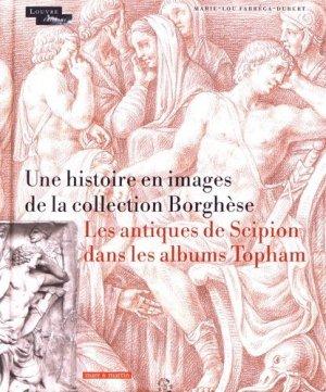 Recueils de dessins en Angleterre. Les Antiques Borghèse dans les albums Topham - Mare et Martin - 9782362220173 -