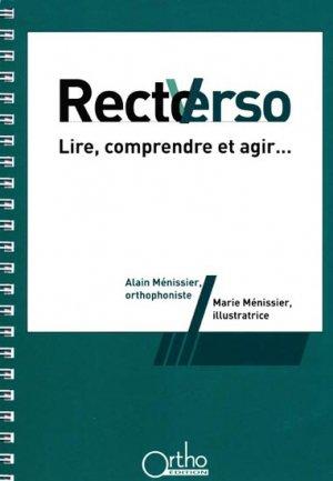 Recto Verso - ortho  - 9782362350290
