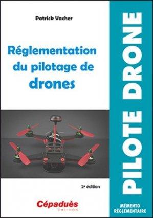 Réglementation du pilotage de drones-cepadues-9782364935839