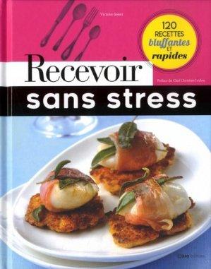 Recevoir sans stress - casa  - 9782380580358 -