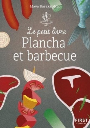 Recettes barbecue & plancha - first editions - 9782412058183 -