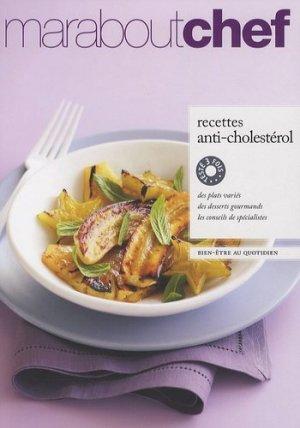 Recettes anticholestérol - Marabout - 9782501064217 -