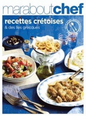 Recettes crétoises et des îles grecques - Marabout - 9782501087179 -