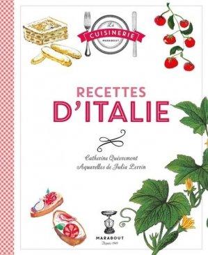 Recettes classiques d'Italie - Marabout - 9782501102001 -
