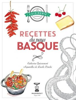 Recettes du pays basque - Marabout - 9782501103404 -