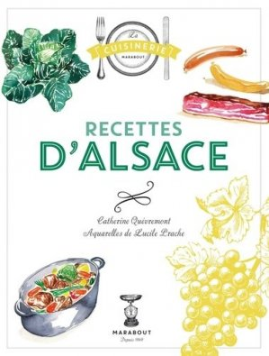 Recettes d'Alsace - Marabout - 9782501103435 -