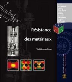 Résistance des matériaux - presses internationales polytechniques - 9782553010347 -