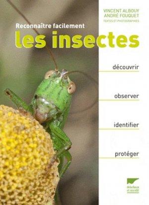 Reconnaître facilement les insectes - delachaux et niestle - 9782603017579 -