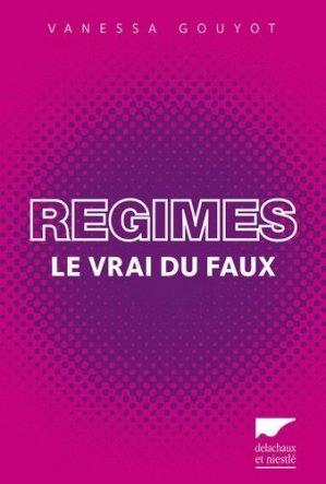 Régimes - delachaux et niestle - 9782603020364 -
