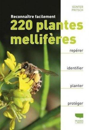 Reconnaître facilement 220 plantes mellifères - delachaux et niestlé - 9782603026731 -