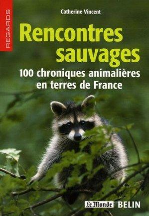 Rencontres sauvages - belin / pour la science - 9782701142340 -