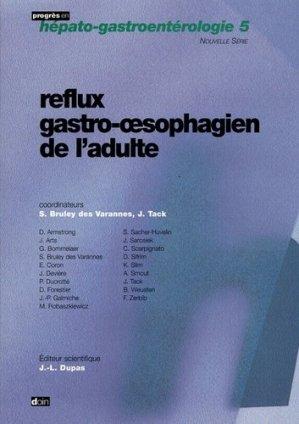 Reflux gastro-oesophagien de l'adulte - doin - 9782704011865 -