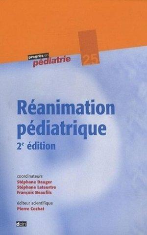 Réanimation pédiatrique - doin - 9782704012800 -