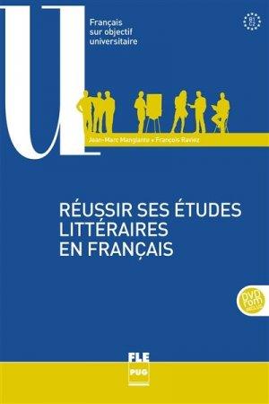 Réussir ses études littéraires en français - PUG - 9782706122835 -