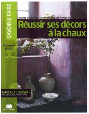 Réussir ses décors à la chaux - massin - 9782707206473 -