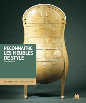 Reconnaître les meubles de style - massin - 9782707208781 -