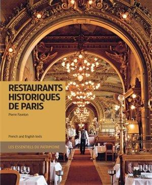 Restaurants historiques de Paris - massin - 9782707209078 -