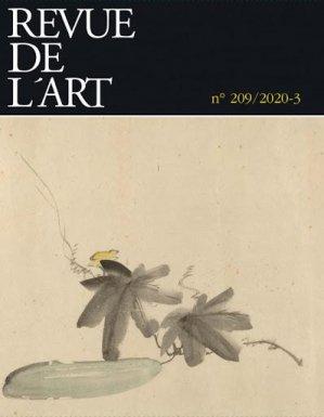 Revue de l'art n°209/2020-3 - ophrys - 9782708015968 -