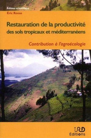 Restauration de la productivité des sols tropicaux et méditerranéens - ird - 9782709922777 -