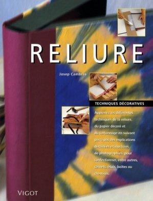 Reliure - vigot - 9782711418978 -